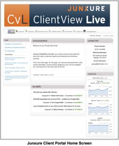 Junxure ClientView Live