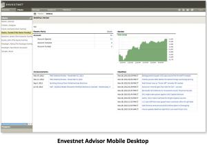 Envestnet Advisor Desktop